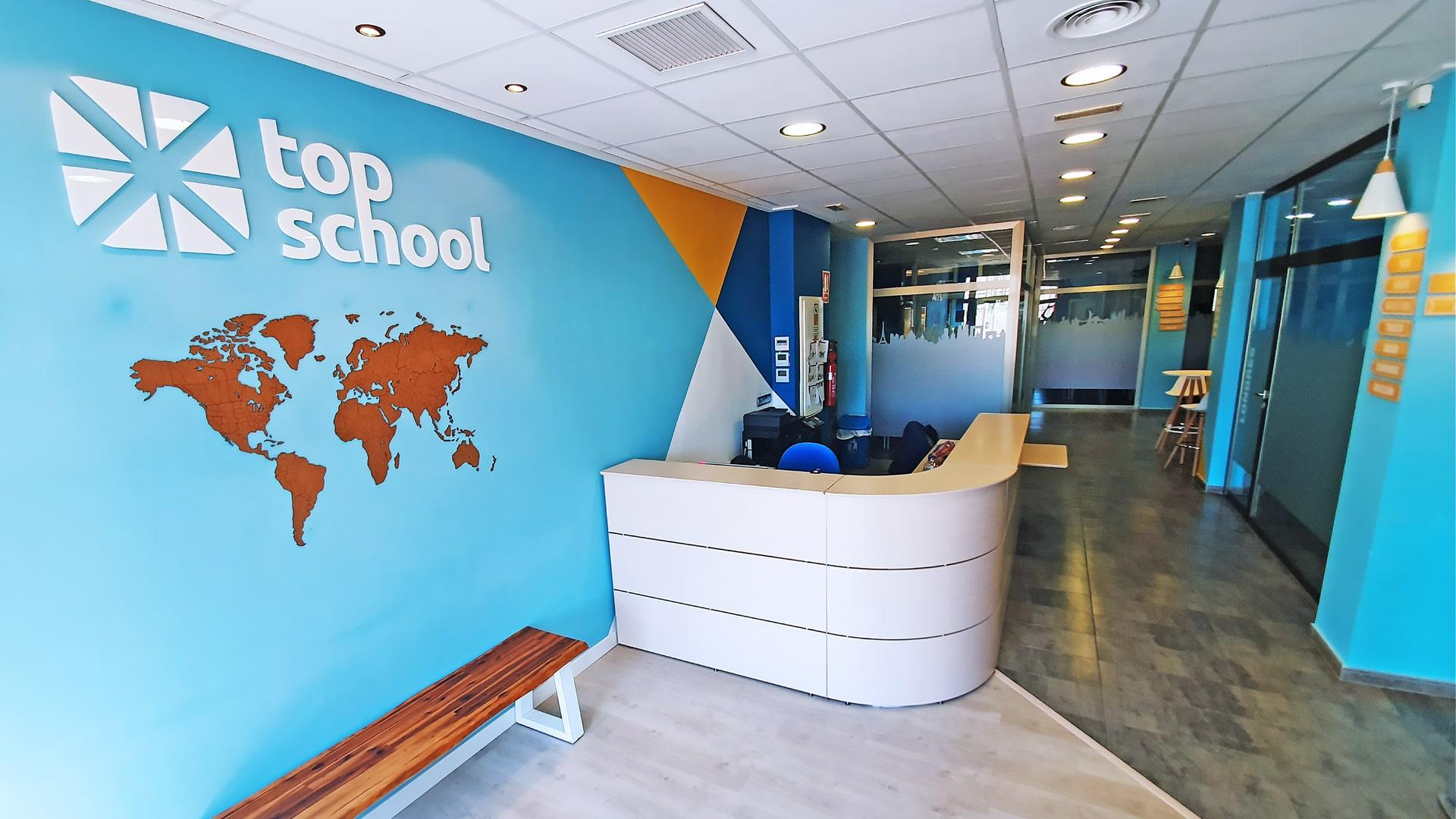 Academia de inglés en Elche Top School