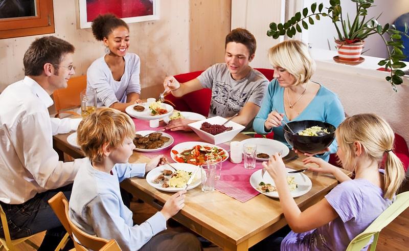 Alojamiento en familia