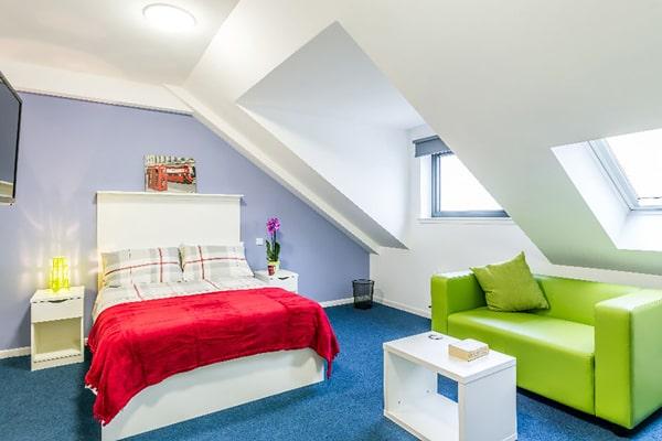 Alojamiento escuela de inglés Basil Paterson Edinburgh: Residencia de verano 1