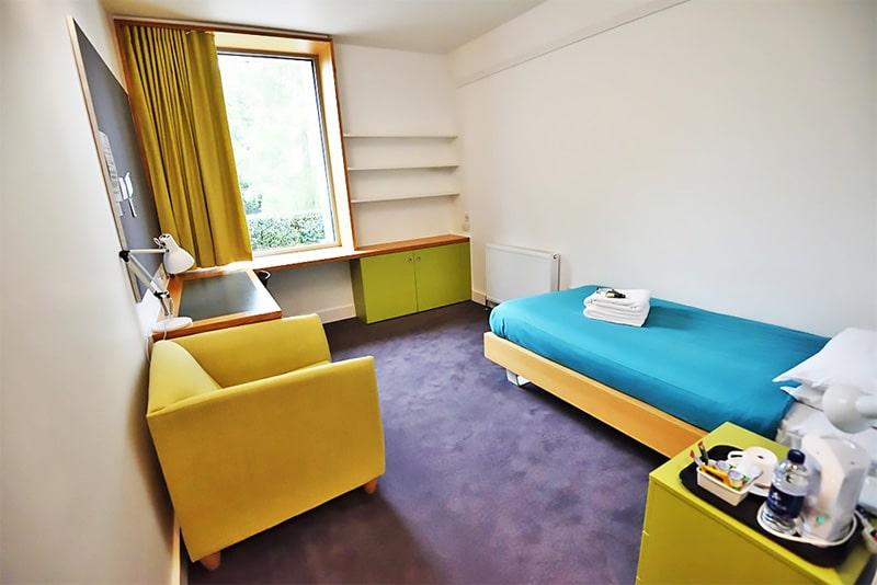 Alojamiento en la residencia de verano Girton College