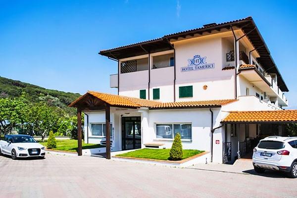 Alojamiento escuela de italiano Centro Fiorenza Island of Elba: Hotel Tamerici 1