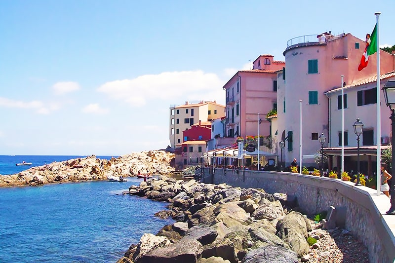 Alojamiento escuela de italiano Centro Fiorenza Island of Elba: Apartamento compartido