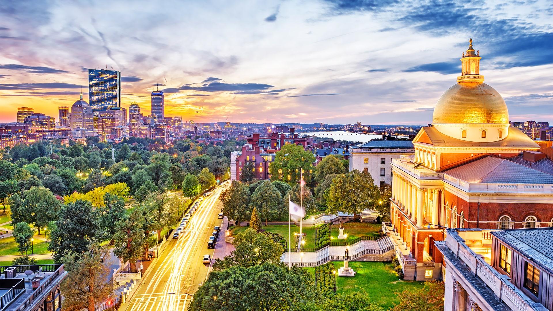 Cursos y escuelas de inglés en Boston