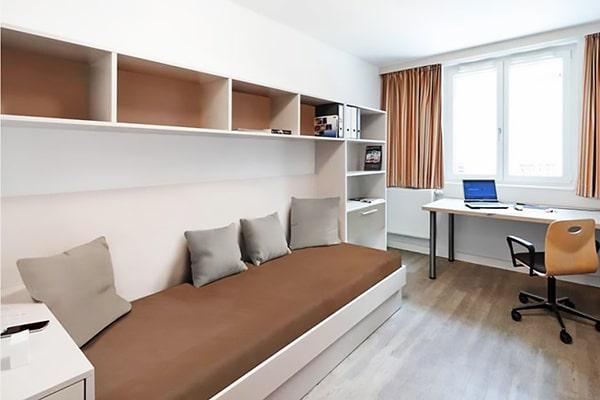 Alojamiento escuela de alemán DID Deutsch-Institut Frankfurt: Residencia de estudiantes 1