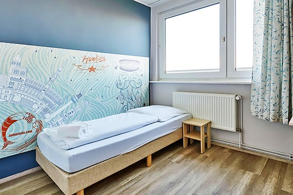 Alojamiento escuela de alemán DID Deutsch-Institut Hamburg: Youth Hostel 2