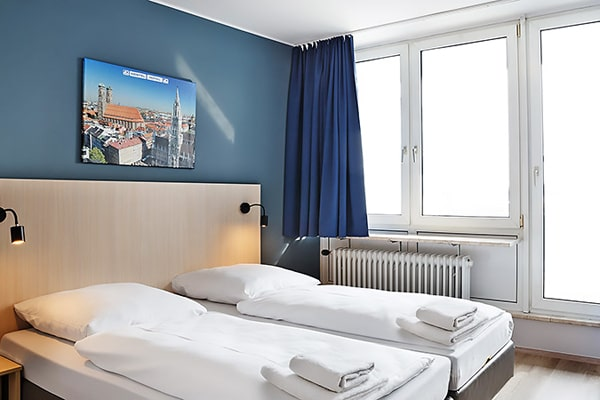 Alojamiento escuela de alemán DID Deutsch-Institut Munich: Youth Hostel 1