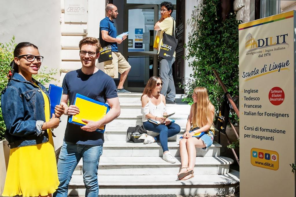 Escuela de italiano en Roma | Dilit Roma IH Rome 1
