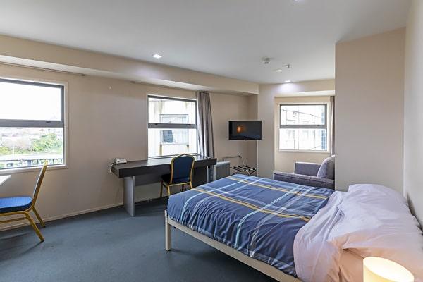 Alojamiento escuela de inglés EC English Auckland: Apartamentos estándar Empire 1
