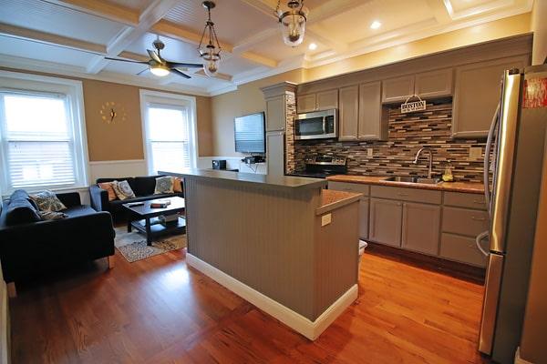 Alojamiento escuela de inglés EC English Boston: Apartamento estándar North End 3