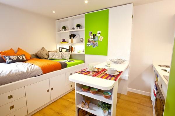 Alojamiento escuela de inglés EC English Bristol: Residencia confort Liberty Park 1