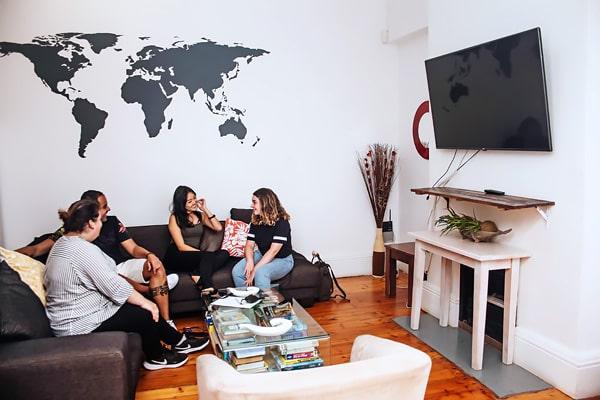 Alojamiento escuela de inglés EC English Cape Town: Residencia confort New Church Street 5