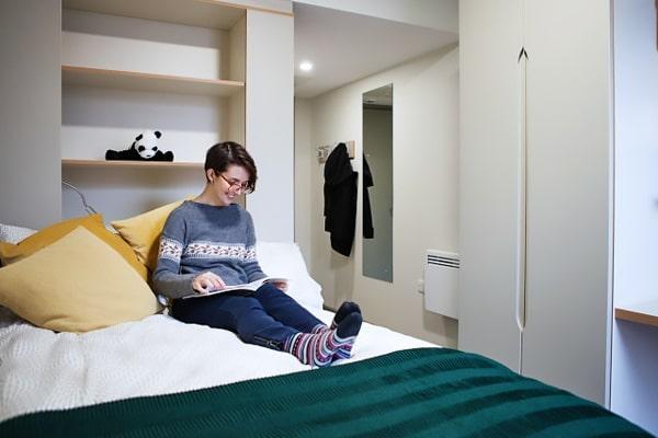 Alojamiento escuela de inglés EC English Dublin 30+: Residencia Comfort LIV 2