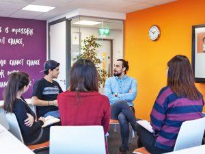 Escuela de inglés en Dublín   EC English Dublin 5
