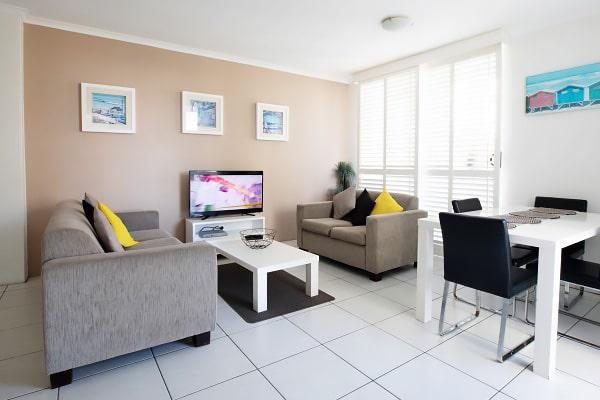 Alojamiento escuela de inglés EC English Gold Coast: Apartamentos confort Carlton 3