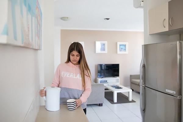 Alojamiento escuela de inglés EC English Gold Coast: Apartamentos confort Carlton 5