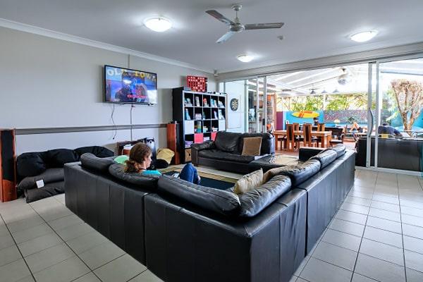 Alojamiento escuela de inglés EC English Gold Coast: Residencia estándar Aquarius Backpackers Resort 1