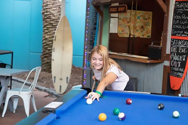 Alojamiento escuela de inglés EC English Gold Coast: Residencia estándar Aquarius Backpackers Resort 2