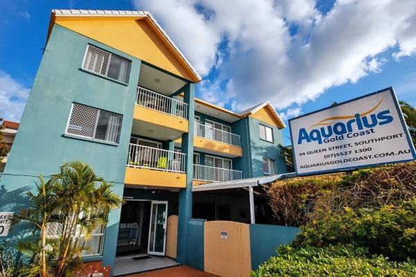 Alojamiento escuela de inglés EC English Gold Coast: Residencia estándar Aquarius Backpackers Resort 4