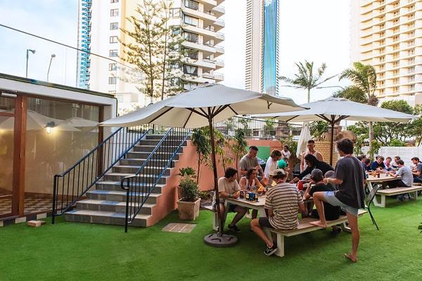 Alojamiento escuela de inglés EC English Gold Coast: Residencia estándar Bunk Surfers Paradise 1