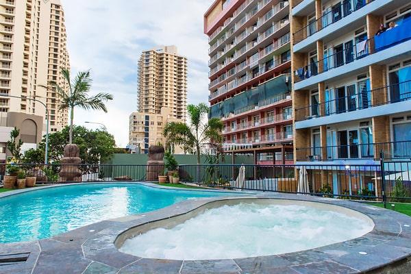 Alojamiento escuela de inglés EC English Gold Coast: Residencia estándar Bunk Surfers Paradise 3