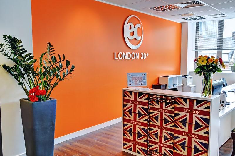 Escuela de inglés para mayores de 30 años | EC English London 30+ 7