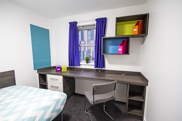 Alojamiento escuela de inglés EC English Manchester: Residencia de verano estándar Liberty Point 1