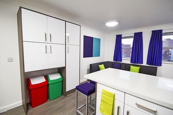 Alojamiento escuela de inglés EC English Manchester: Residencia de verano estándar Liberty Point 3