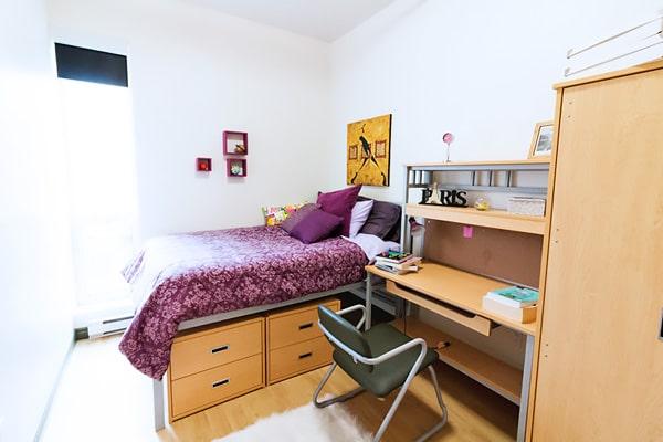 Alojamiento escuela de inglés y francés EC English Montreal: Apartamento compartido superior La Marq au 515 1