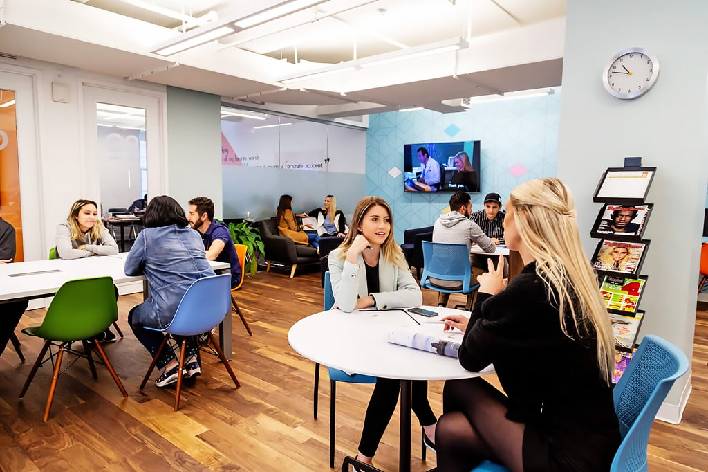 Escuela de inglés en Nueva York para mayores de 30 años EC English New York 30+