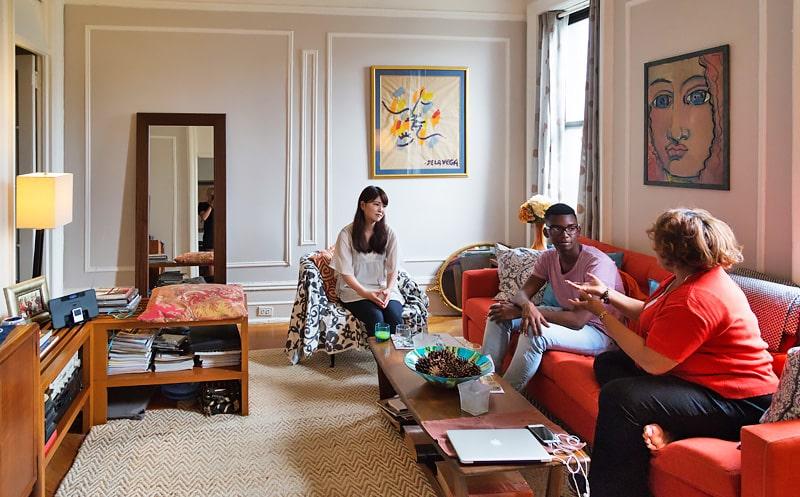 Alojamiento escuela de inglés EC English New York: Familia estadounidense en Manhattan