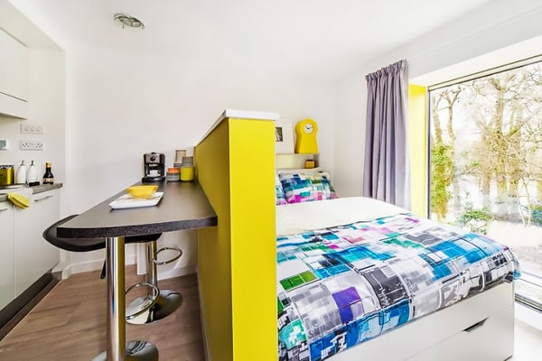 Alojamiento escuela de inglés EC English Oxford: Residencia confort Alice House 1