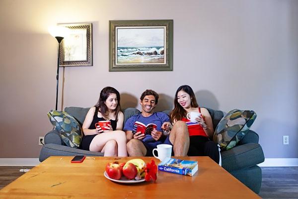 Alojamiento escuela de inglés EC English San Diego: Aparthotel confort Bay Pointe 1