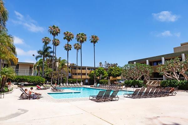 Alojamiento escuela de inglés EC English San Diego: Aparthotel confort Bay Pointe 2