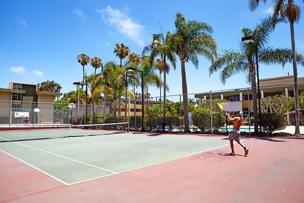Alojamiento escuela de inglés EC English San Diego: Aparthotel confort Bay Pointe 4