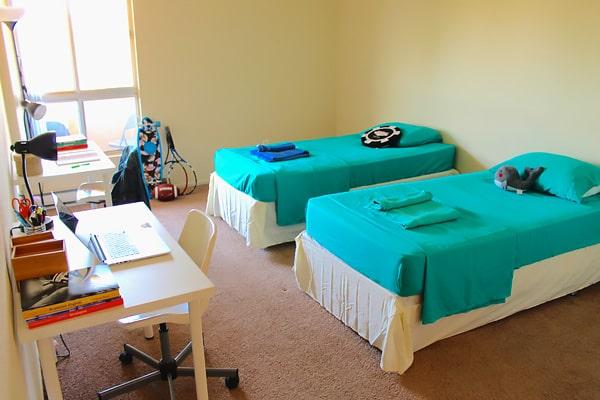 Alojamiento escuela de inglés EC English San Diego: Aparthotel superior AVA 2