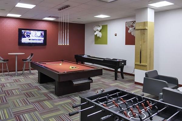 Alojamiento escuela de inglés EC English Washington: Aparthotel superior Crystal 2