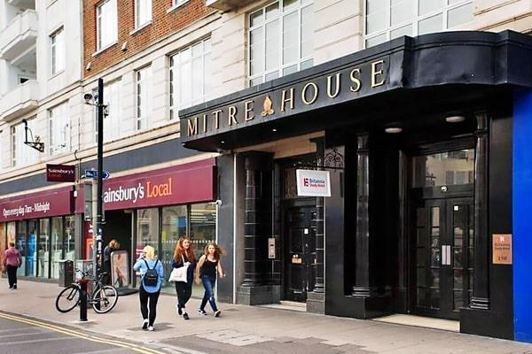 Alojamiento escuela de inglés Oxford International Brighton: Residencia Britannia Study 2