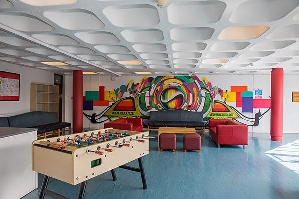 Alojamiento escuela de inglés Emerald Cultural Institute Dublin: Residencia de verano Trinity Hall 2