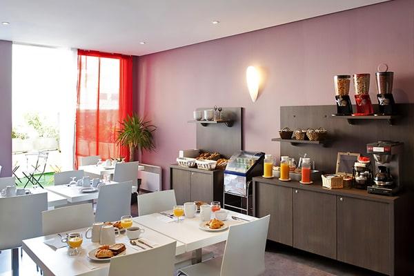 Alojamiento escuela de francés France Langue Bordeaux: Aparthotel Adagio Rodesse 5