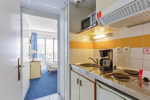Alojamiento escuela de francés France Langue Bordeaux: Aparthotel Appart'City 4