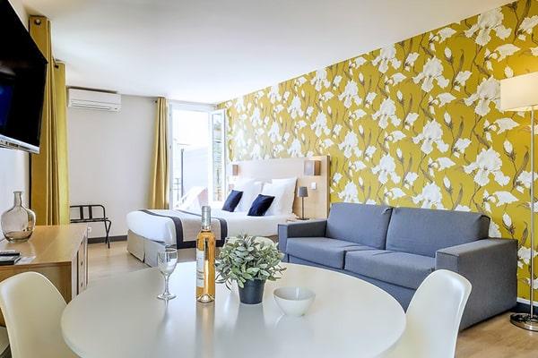 Alojamiento escuela de francés France Langue Nice: Aparthotel Ajoupa 2
