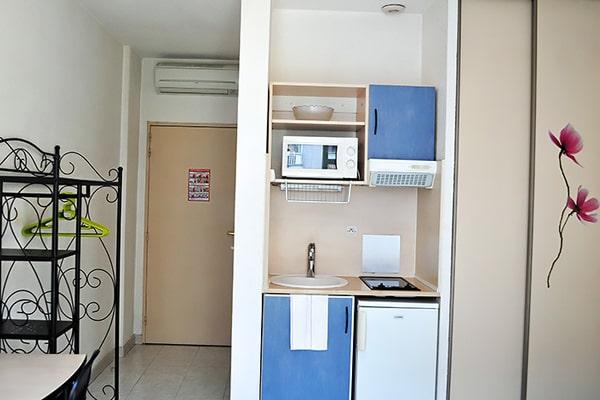 Alojamiento escuela de francés France Langue Nice: Residencia France Riviera 3