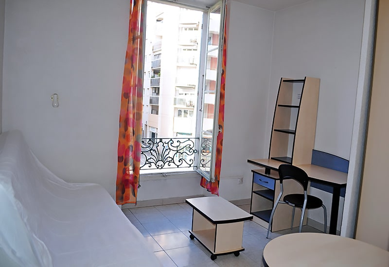 Alojamiento escuela de francés France Langue Nice: Residencia France Riviera 4