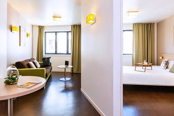 Alojamiento escuela de francés France Langue Paris: Aparthotel Adagio Reuilly 1