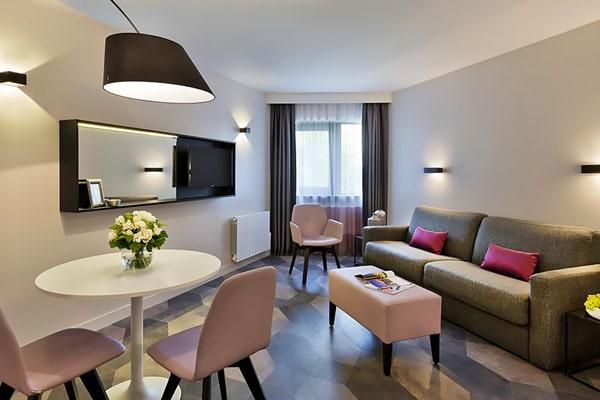 Alojamiento escuela de francés France Langue Paris: Aparthotel Citadines Trocadéro 1