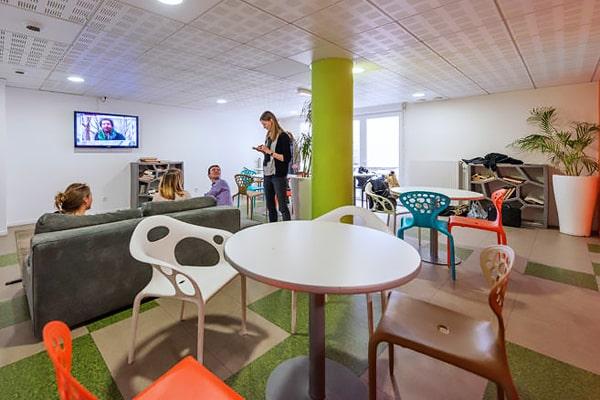 Alojamiento escuela de francés France Langue Paris: Campusea Tolbiac Residence 1
