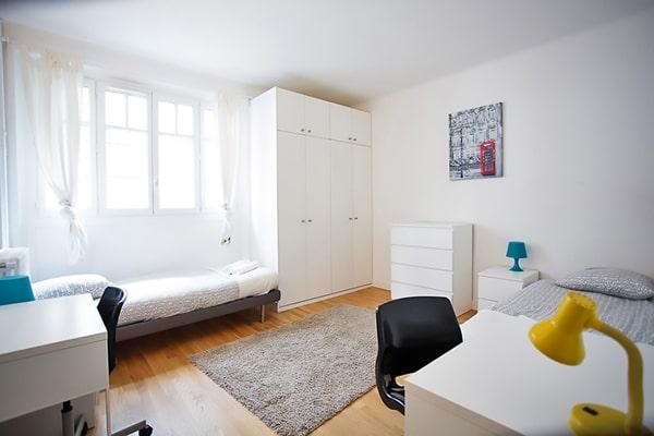 Alojamiento escuela de francés France Langue Paris: Apartamento compartido 5
