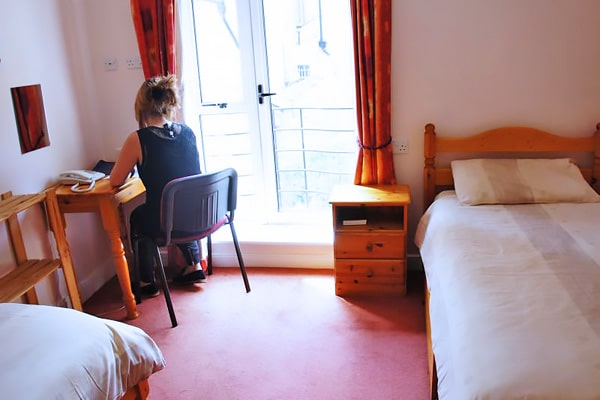 Alojamiento escuela de inglés Frances King School of English Dublin: Residencia Baggot Street 1