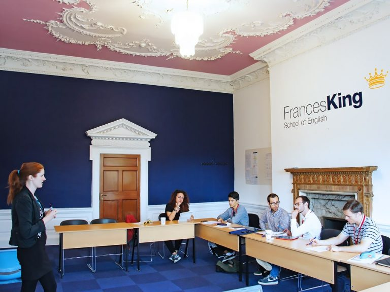 Escuela de inglés en Dublín | Frances King School of English Dublin 1