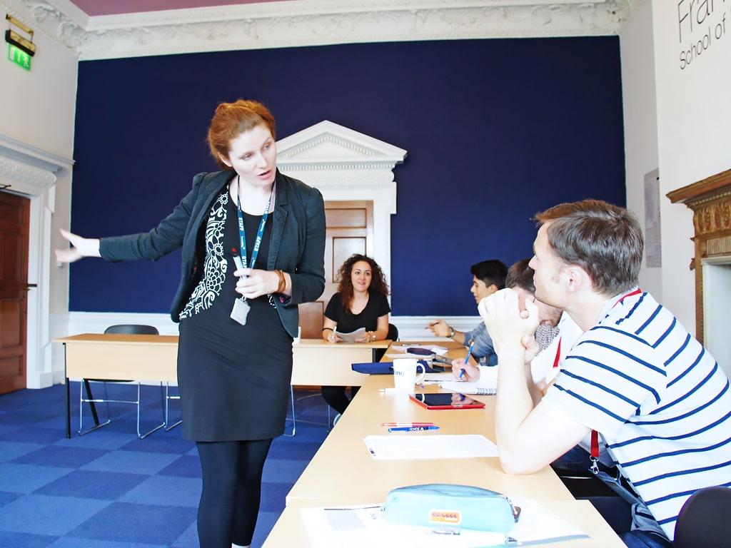 Escuela de inglés en Dublín | Frances King School of English Dublin 8